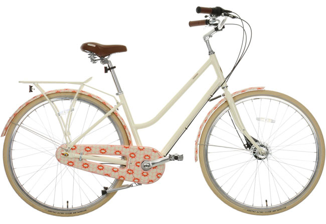 New Orla Kiely vintage-style bicycles land at Halfords