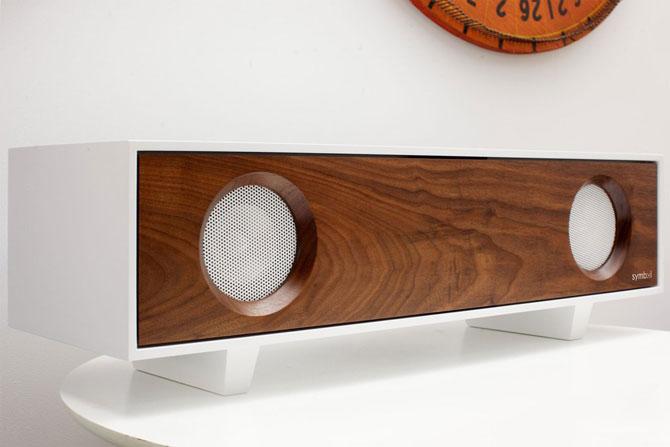 Midcentury-style Symbol tabletop hi-fi
