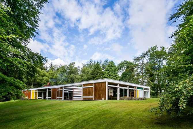 Retro house for sale: 1950s Peter Womersley-designed Klein House in Selkirk, Scottish Borders