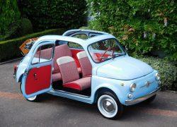 Fully restored 1962 Fiat 500D Trasformabile on eBay