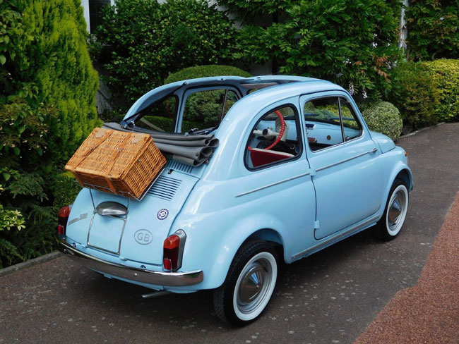 Fully restored 1962 Fiat 500D Trasformabile on eBay