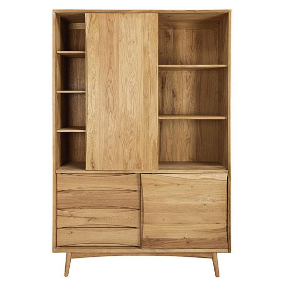 Almond midcentury-style storage at Maisons Du Monde