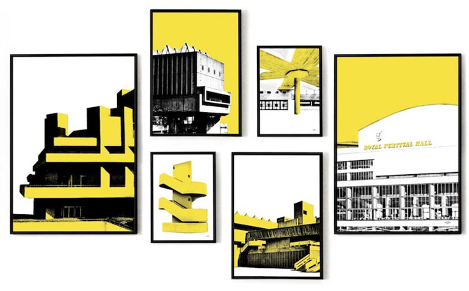 South Bank pop art collection by Art & Hue
