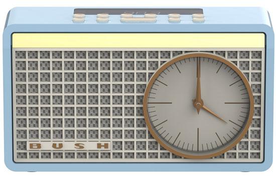 Bush Classic Retro clock radio