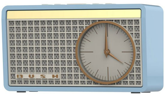Bush Classic Retro clock radio