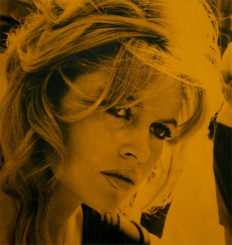 Brigitte Bardot pop art print range by David Studwell