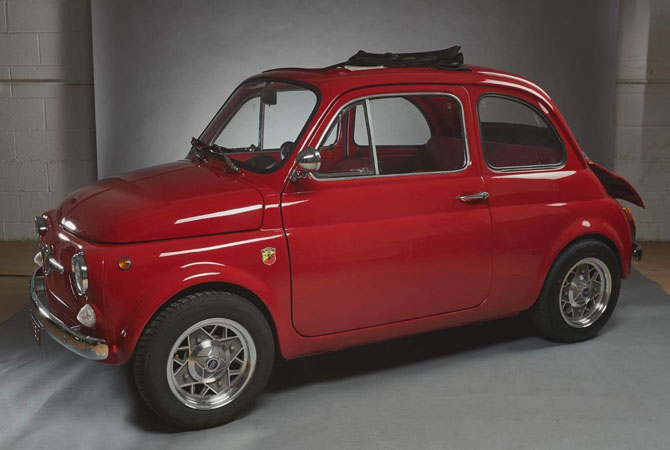 1971 Fiat 500 Abarth recreation on eBay