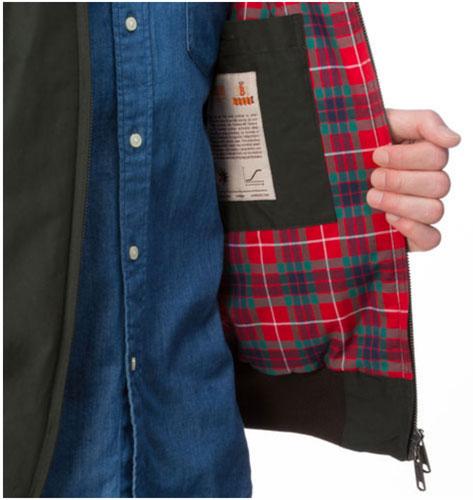 A classic reworked: Baracuta thermal padded G9 Harrington Jacket