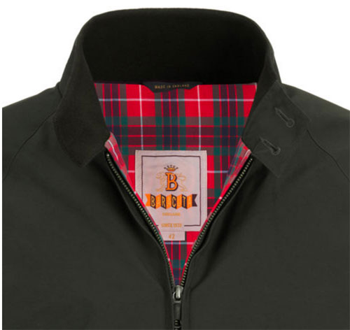 A classic reworked: Baracuta thermal padded G9 Harrington Jacket