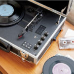 GPO Retro Flight portable record and cassette player