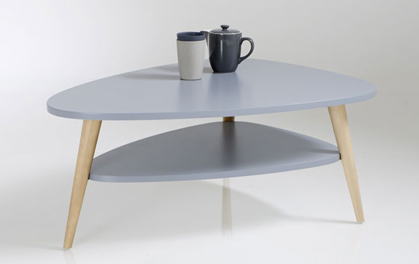 Back in colour: Jimi midcentury two-tier coffee table