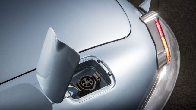 Return of a classic: Jaguar shows off an all-electric E-Type