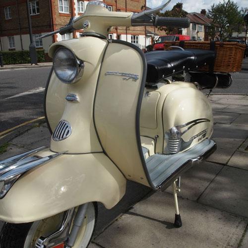 1959 Lambretta TV 175 series 1 scooter on eBay