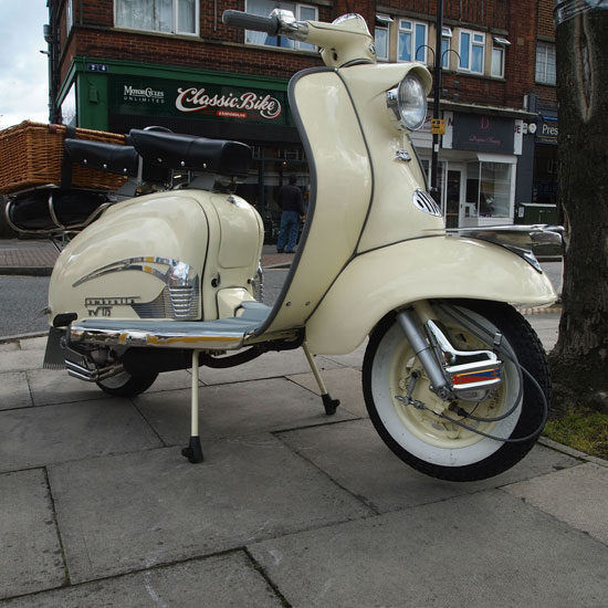 1959 Lambretta TV 175 series 1 scooter on eBay