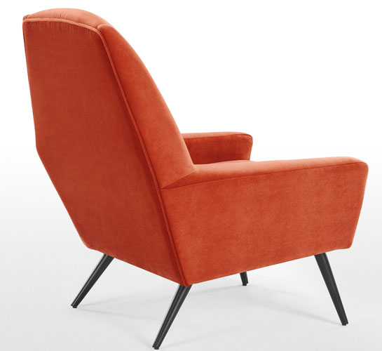 1960s style roco chair range at made for Sixties style chairs