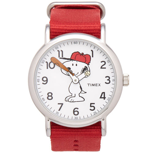 Timex x peanuts weekender watches for Snoopy watches