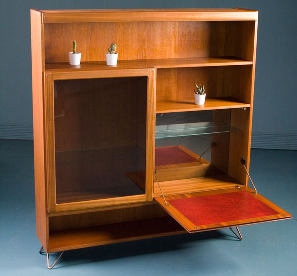 Upcycled 1970s McIntosh display cabinet on eBay