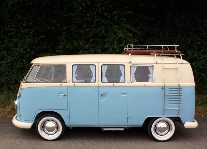 Fully restored 1965 VW Split Screen Camper Van