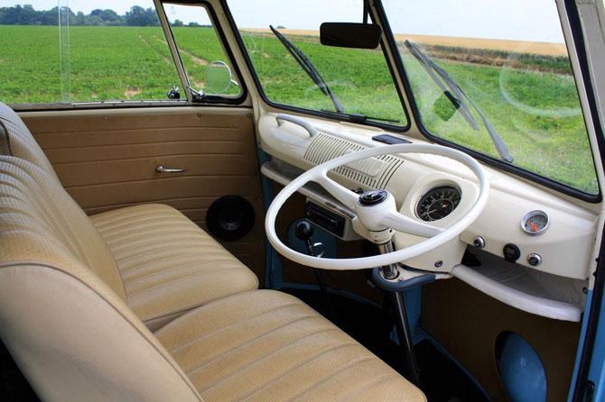 Fully restored 1965 VW Split Screen Camper Van