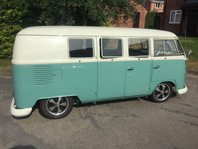 Fully restored 1964 Volkswagen Split Screen Camper Van on eBay