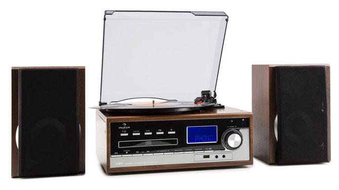 Retro audio: Auna Deerwood stereo system