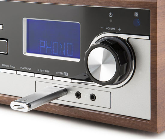 Retro audio: Auna Deerwood stereo system