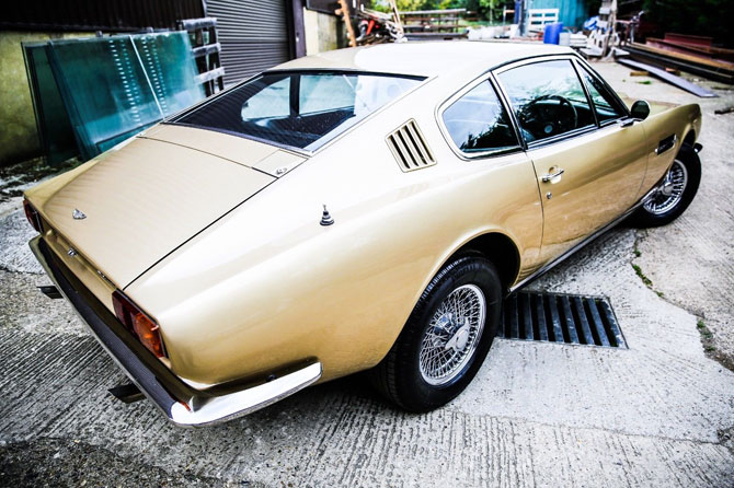 1969 Aston Martin DBS6 on eBay