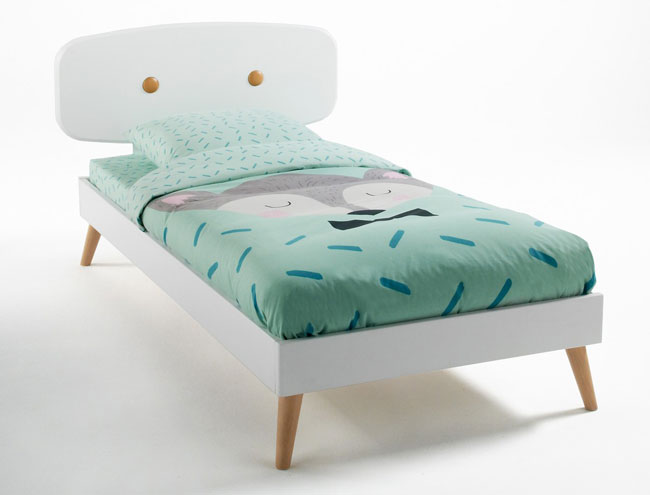 Midcentury-inspired Anda bed for kids at La Redoute