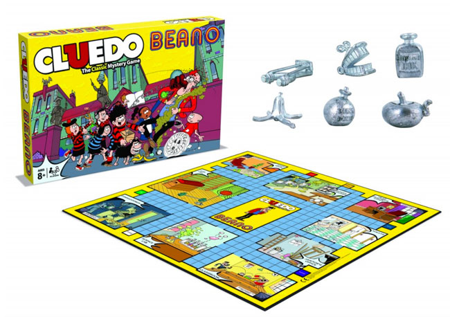 Retro board games: Beano Cluedo now available to order