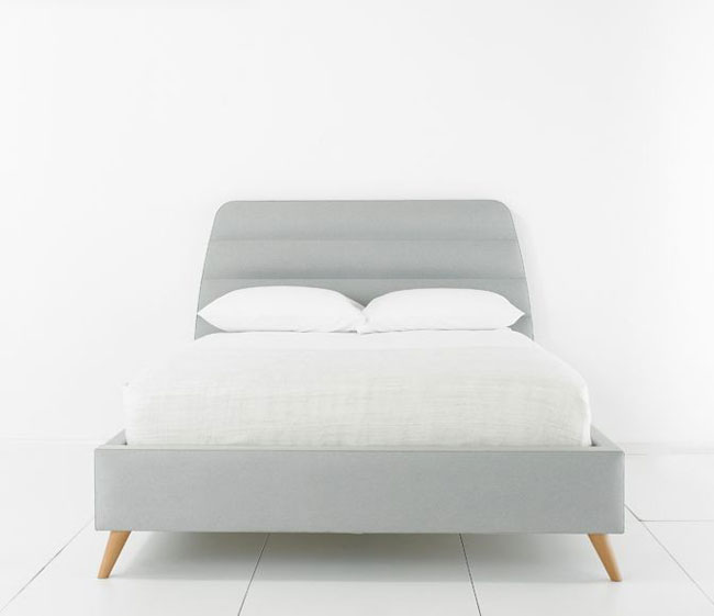 Midcentury-style Tube bed by Bed Monkey