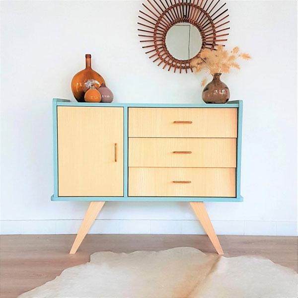 Midcentury-style Bertille Dresser by La Chouette Fabrique