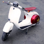 Retro wheels: Buzz 1 Vespa-inspired electric scooter
