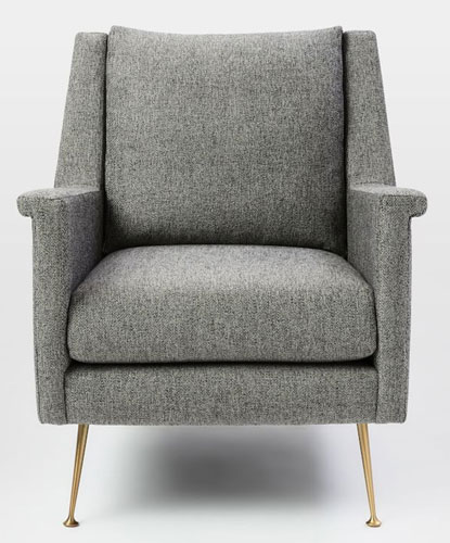 Carlo Mid-Century Chair at West Elm