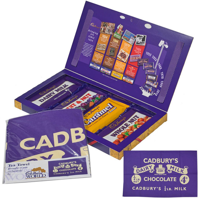 Cadbury's Retro Selection Box returns for Christmas 2018