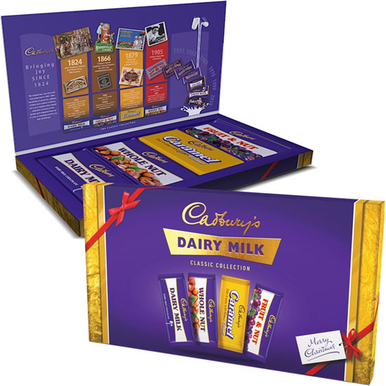 Cadbury introduces a Retro Selection Box for Christmas