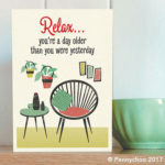 Honey, I'm Home! 1950s-style card range by Pennychoo