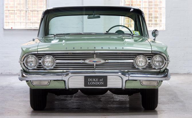 1960 Chevrolet Impala Saloon on eBay