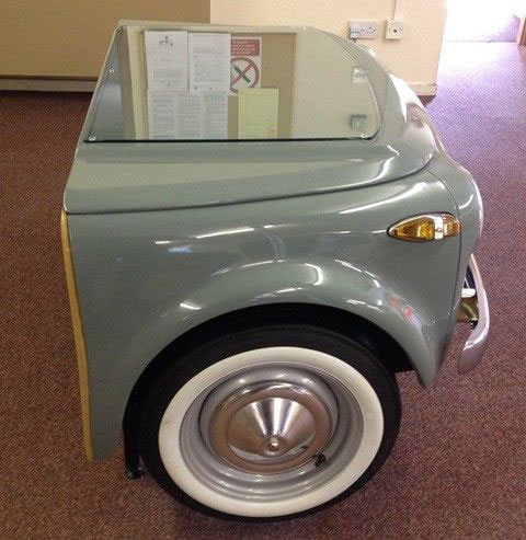 Retro office: Fiat 500N desk on eBay