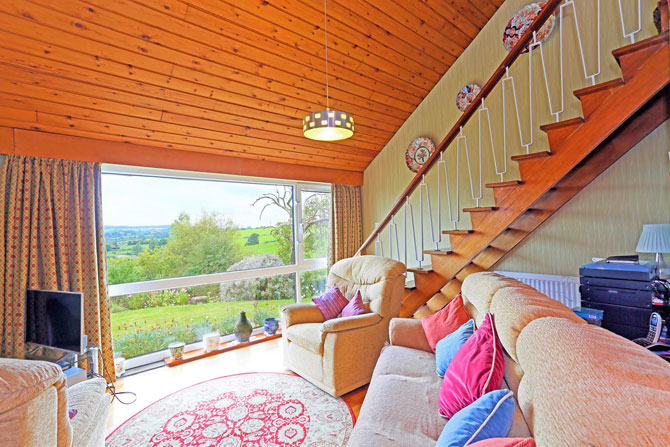 Retro house for sale: 1960s three-bedroom property in Dewsbury, West Yorkshire
