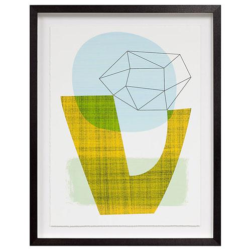 Ellen Giggenbach midcentury-inspired framed prints at John Lewis