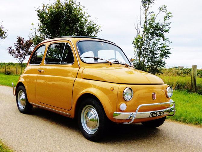 Fully restored 1972 Fiat 500 Lusso Edition on eBay