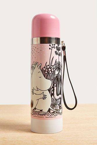 Moomins thermos flasks at Urban Outfitters
