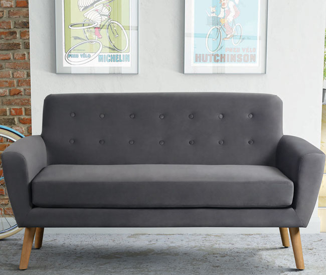 Mid Century Two Seater Sofa by I Love Retro