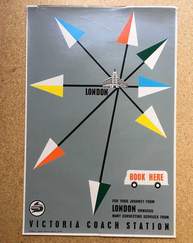 Mid-20th century public information posters on eBay