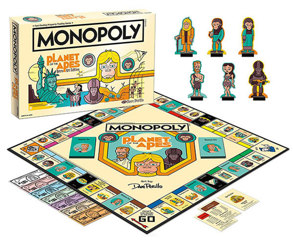 Retro gaming: Planet of the Apes Monopoly