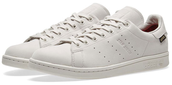 All-weather footwear: Adidas Stan Smith GTX trainers