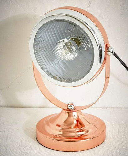 Retro-style Table Head Lamps at Urban Outfitters