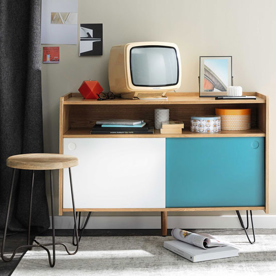 Twist retro furniture range at Maisons Du Monde