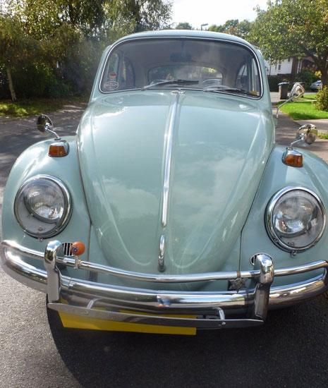 Untouched 1966 Volkswagen Beetle 1300 Deluxe car on eBay