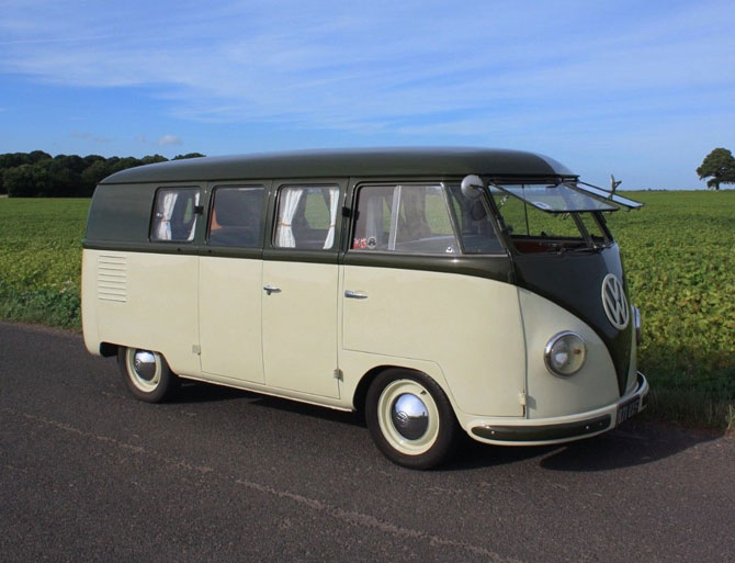Rare 1951 VW Split Screen Camper Van on eBay